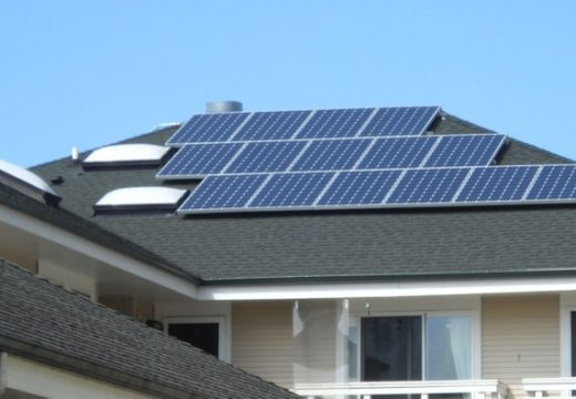 Jackson Place solar panels installed on roof