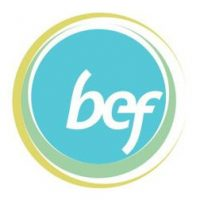 BEF swirling circles logo