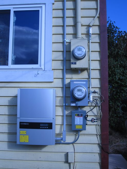 solar meters and inverter