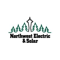 the logo for NorthWest Electric and Solar