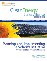 thumbnail for Planning and Implementing a Solarize Initiative A Guide for State Program Managers