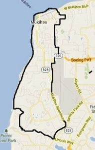 map for Solarize Mukilteo