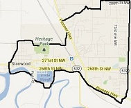map for Solarize Stanwood/Camano: Stanwood