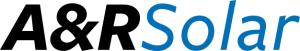 logo for A & R Solar